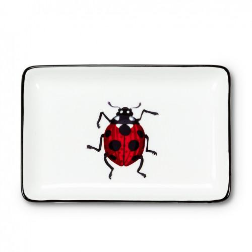 Ladybug Rectangle Tray