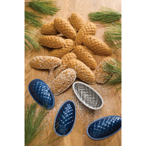 Pine Cone Cookie Tins-Set of 9