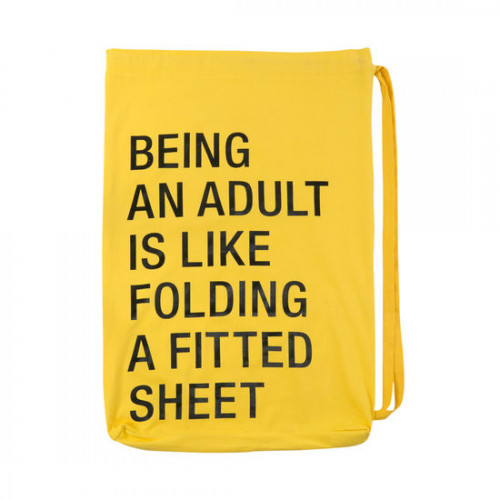 An Adult Laundry Bag