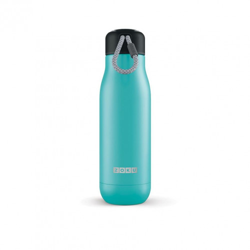 Zoku 18oz Stainless Bottle-Teal
