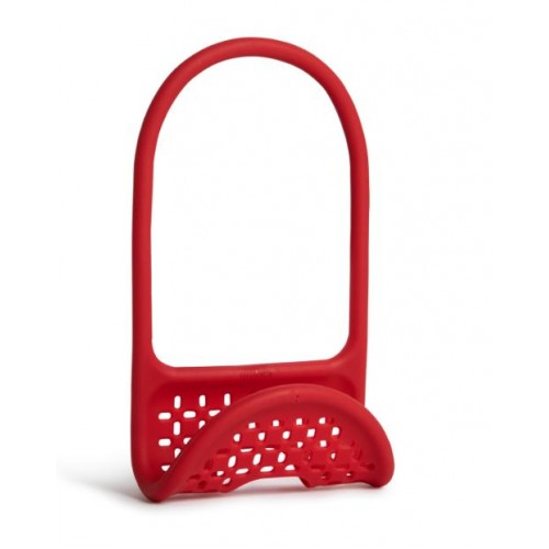 Sling Flexible Sink Caddy Red