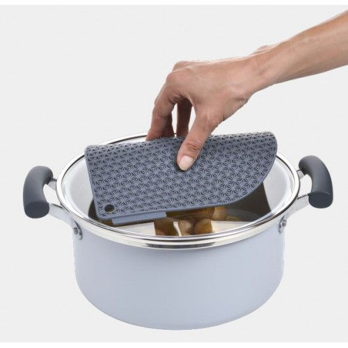 Honeycomb Pot Holder ( black )