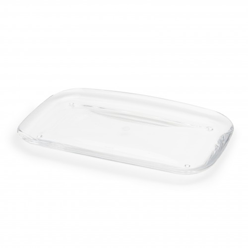 Droplet Amenity Tray Clear