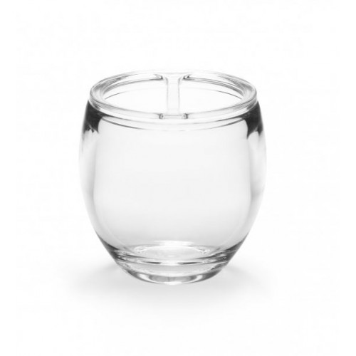 Droplet Toothbrush Holder Clear