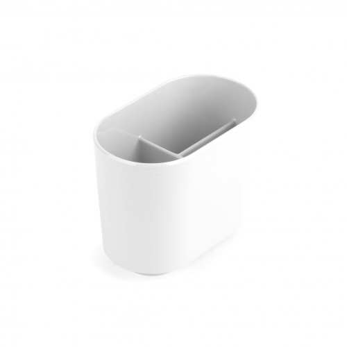 Step Toothbrush Holder (White)