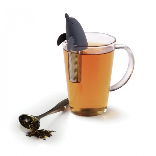 Dolphin Tea Infuser (Black)